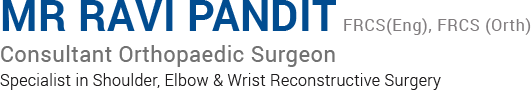 Mr Ravi Pandit - Orthopaedic Surgeon - logo